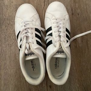 Adidas Classic White & Black Women's Sneakers